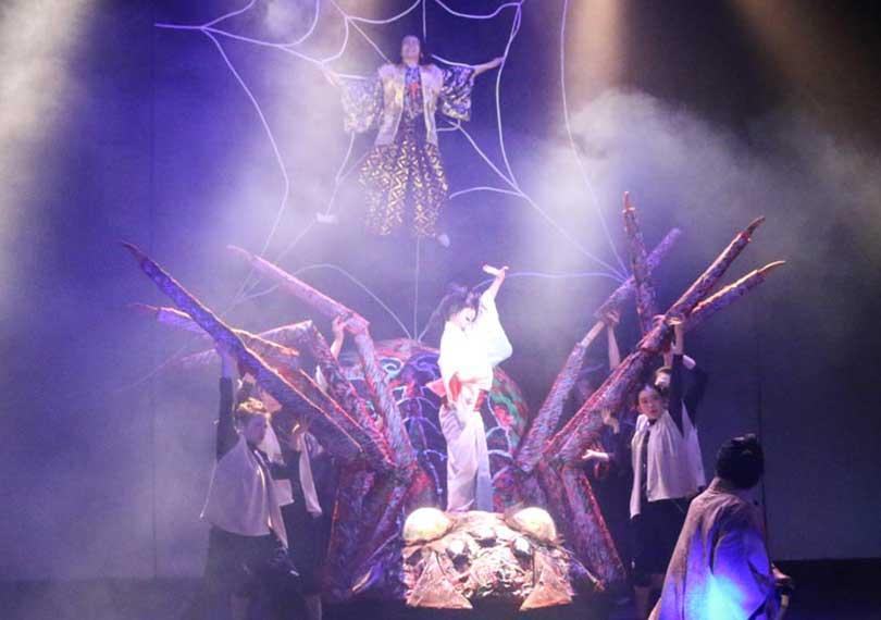 歌舞伎ミュージカル「不知火譚」第一章 蜘蛛の巣の陣